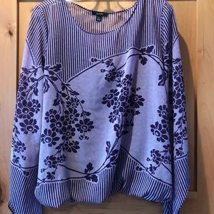 Alfani Purple Double Top XL New Pretty